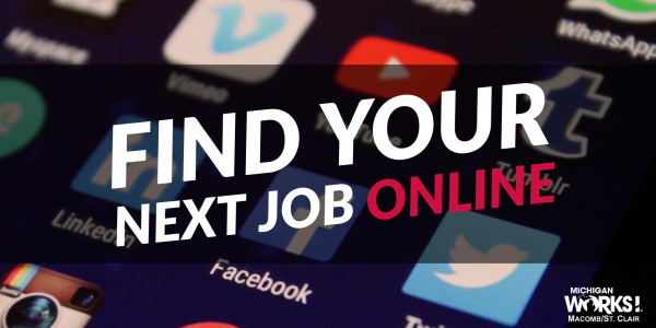 Find Your Next Job Online @ Michigan Works! Clinton Township | Clinton Township | MI | US